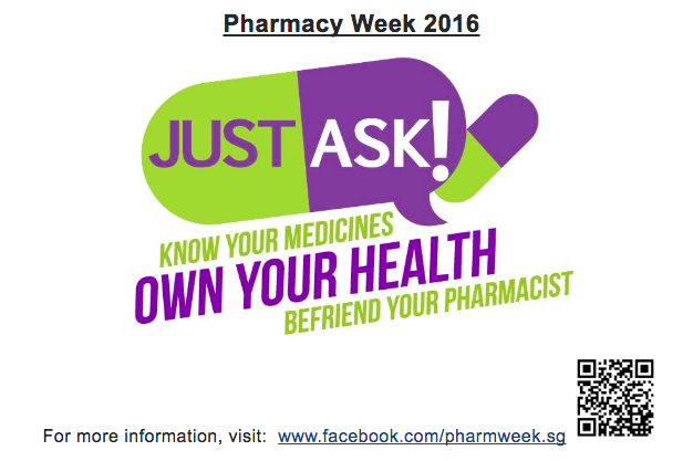 Pharmacy Week 2016 - Just Ask Your Pharmacist | Pharmaceutical ...